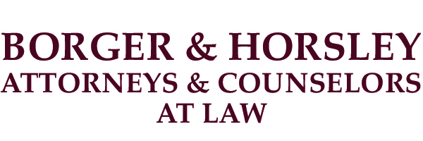 Borger & Horsley – Attorneys & Counselors at Law Logo